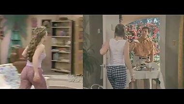 Melissa Joan Hart vs. Jenna Von Oy - Booty Battle!