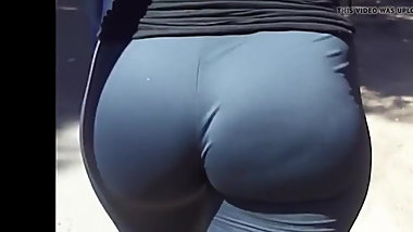 Pawg Big juicy ass spandex