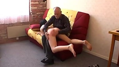 FRENCH SPANKING YOUNG GIRL