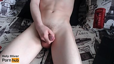 RUSSIAN TEEN TEASES COCK - CUM CONTROL LEADS TO RUINED ORGASM